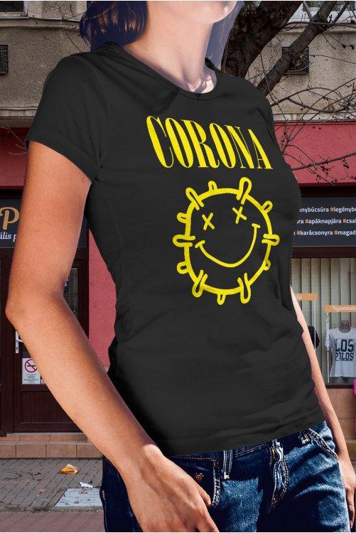 Nirvana-Corona póló