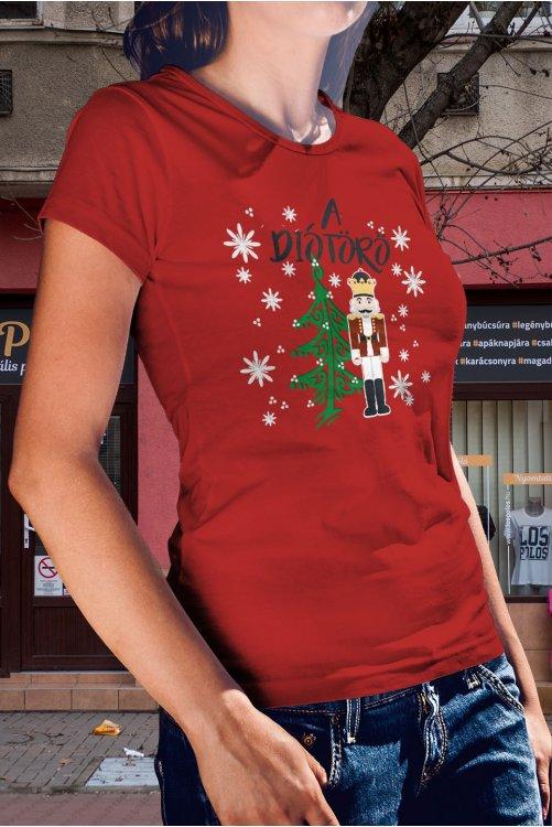 Diótörős karácsonyi póló