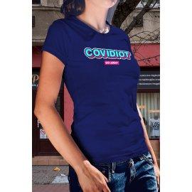 Covidiot póló