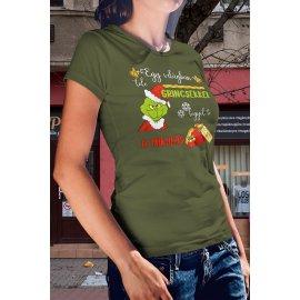 Grincses karácsonyi póló