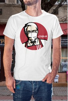 KFC - CVD19 póló
