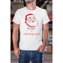 Bedagadt a töltött káposzta-mikulásos póló