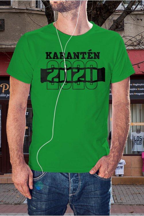 Karantén 2020 póló