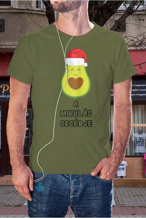 Avokádós karácsonyi póló