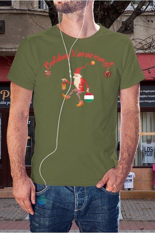 Télapós póló