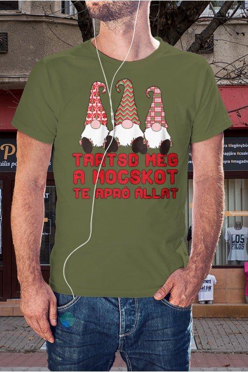 Manós karácsonyi póló