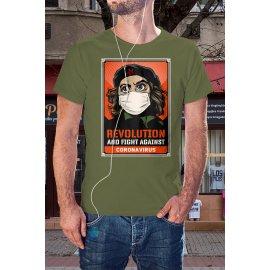Forradalom a koronavírus idején póló