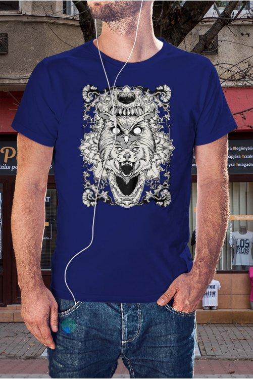 Farkasfejes póló
