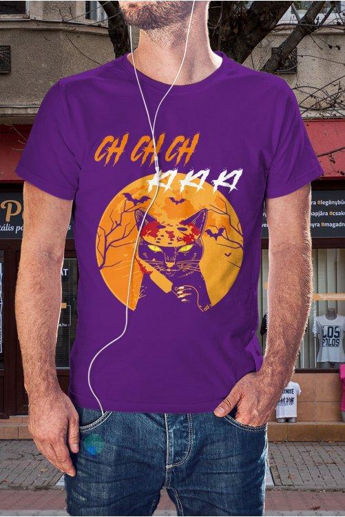 Péntek 13 Jason macska póló