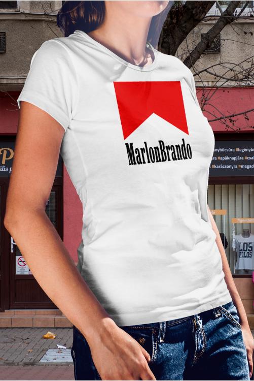 MarlonBrando vagy Marlboro? - póló
