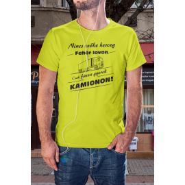 Kamion sofőr póló