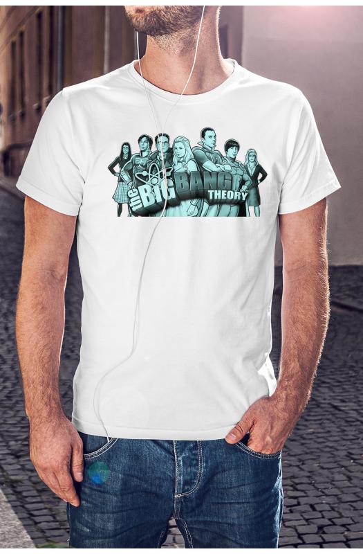 Agymenők Art póló