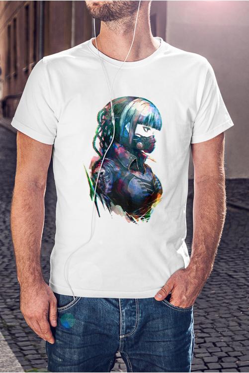 Anime Cyberpunk póló