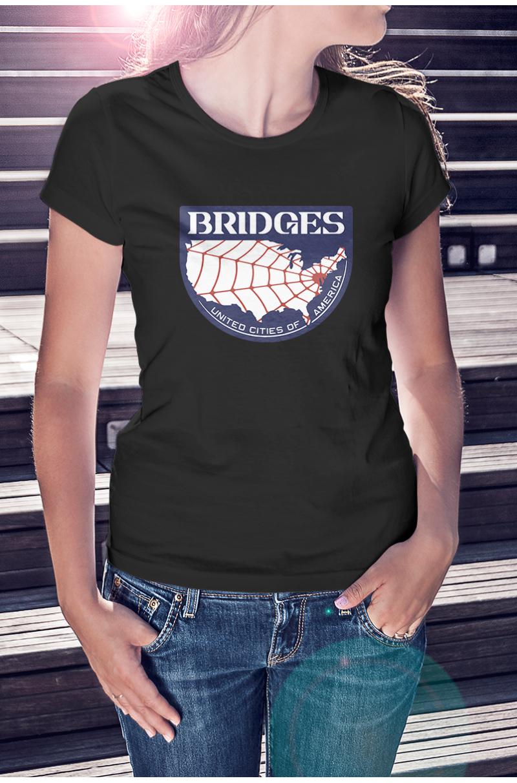 Death Stranding bridges póló