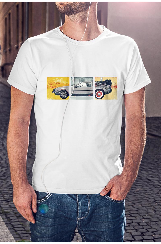DeLorean póló