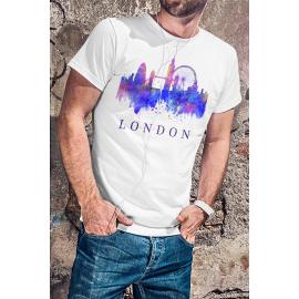 London mintás póló