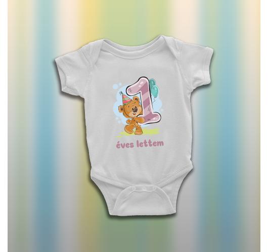 Egy éves lettem - Macis baba b...