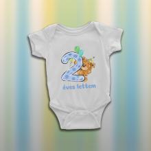 Két éves lettem - Macis baba body