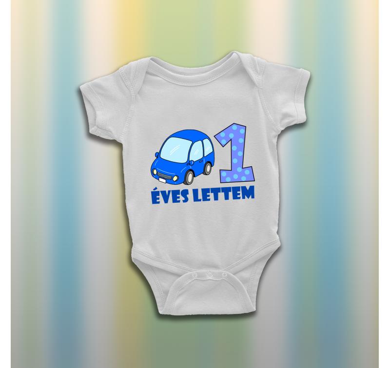 1 éves lettem kisautós baba body