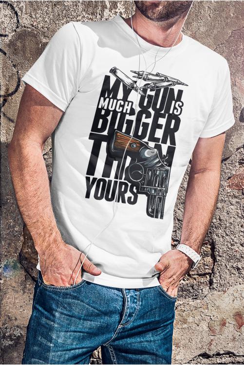 Az én fegyverem sokkal nagyobb mint a tiéd - póló