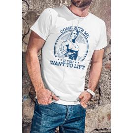 Edző póló Schwarzeneggerel