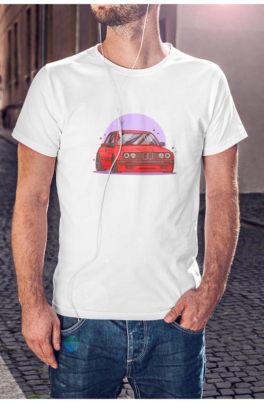 BMW E30 art póló