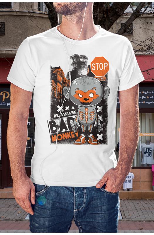 Bad monkey - Rossz majom póló