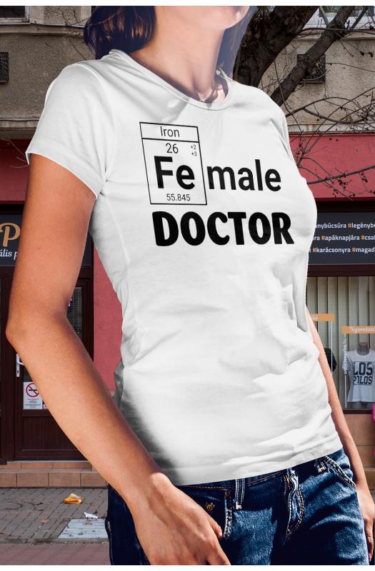 Doktornős póló
