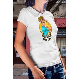 Erős nő póló