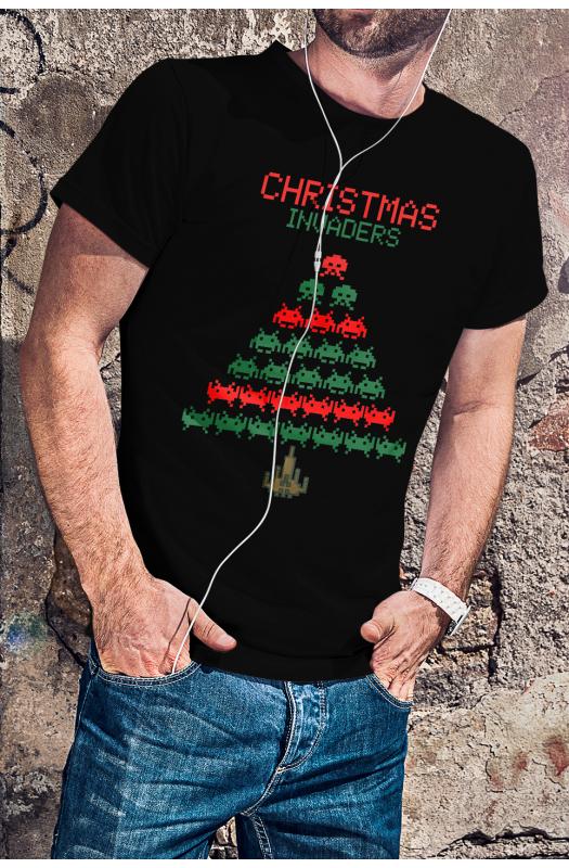 Christmas Invaders - Karácsonyi póló