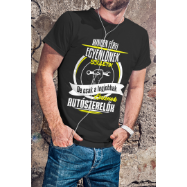 A legjobbak lesznek autószerelők póló