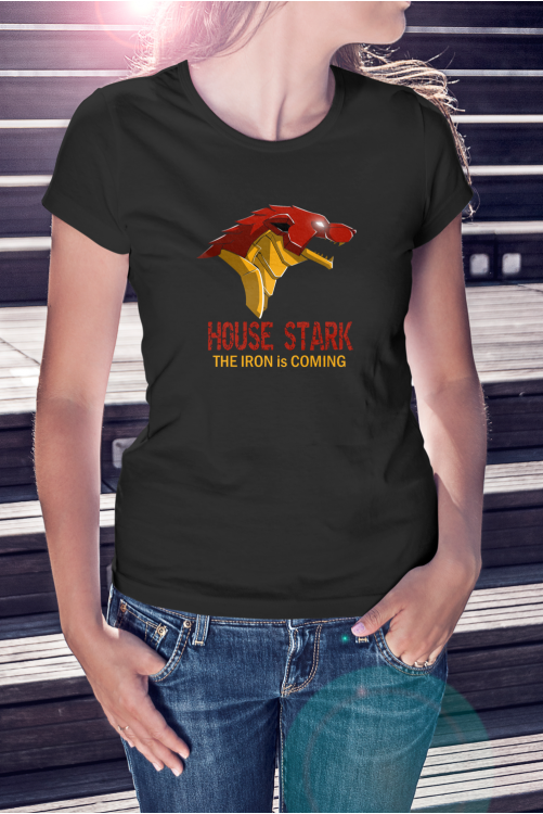 House of Stark - The Iron is Coming póló