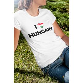 I Love Hungary - Magyarország póló