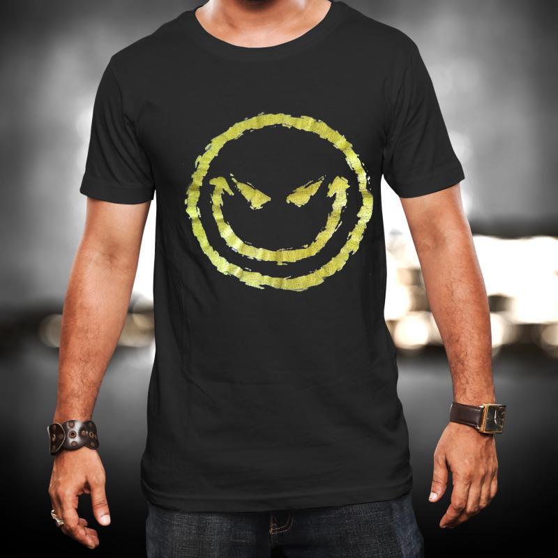 Evil Smiley póló
