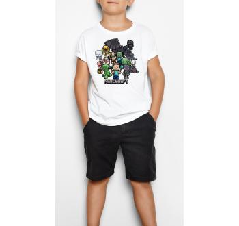 Minecraft 1 - Gyerek póló (csak nálunk!)