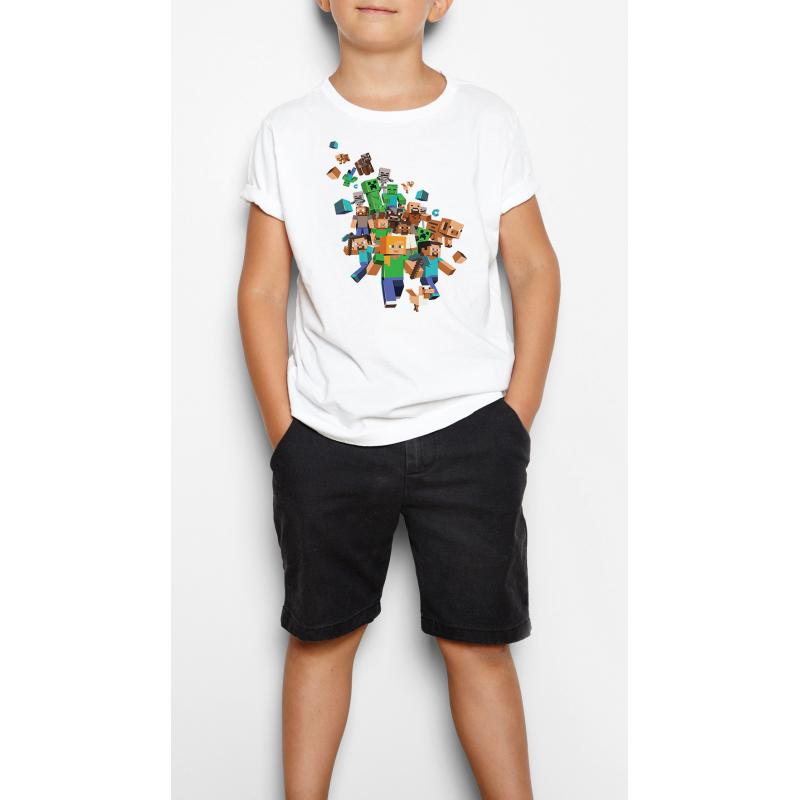 Minecraft 2 - Gyerek póló (csak nálunk!)