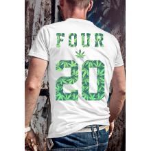 4 20 a Fű világnapja póló