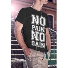 No pain no gain - póló