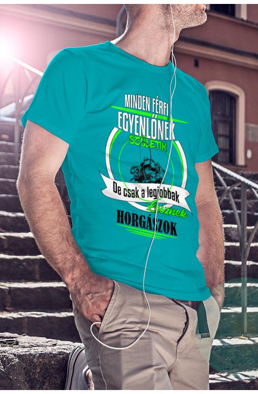 A legjobbak lesznek horgászok póló