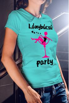 Lánybúcsú party póló