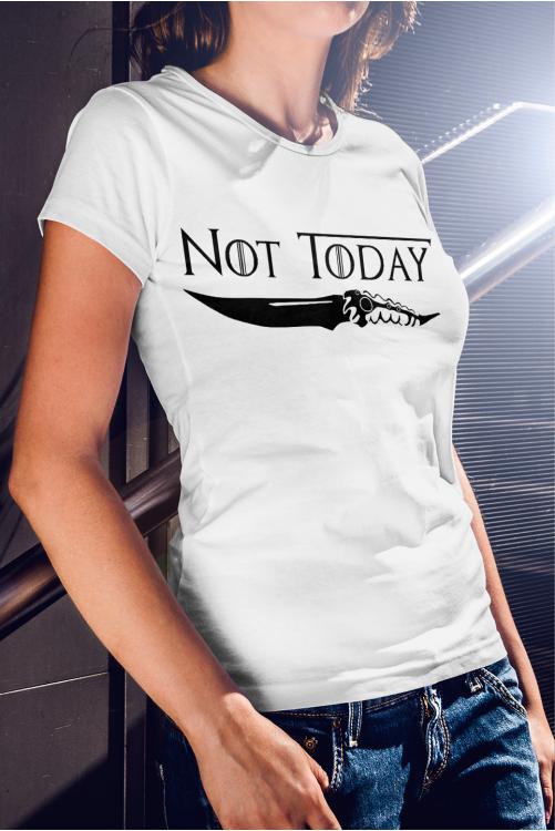 Not Today - Game of Thrones - Trónok harca póló