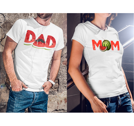 Anyu - Apu Páros dinnye pólók...