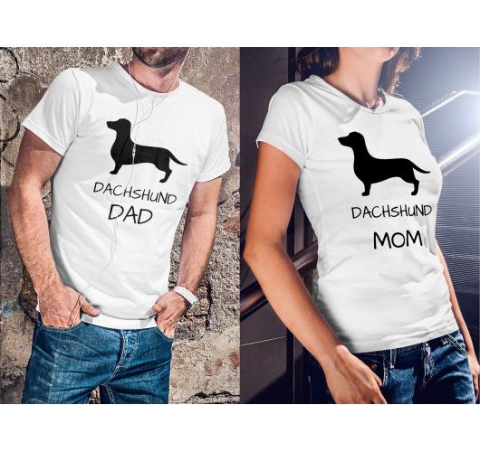 Tacskó anyu és apu páros póló...
