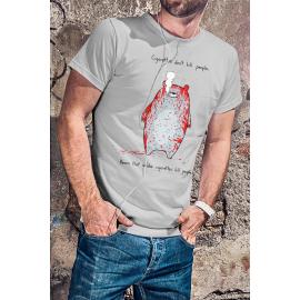 Nem a dohányzás öl, hanem a dohányzó medvék póló