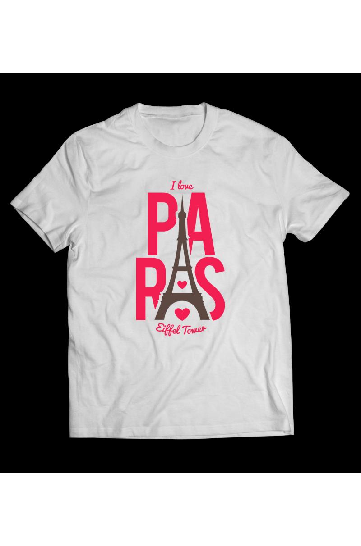 I love Paris - Csajos póló