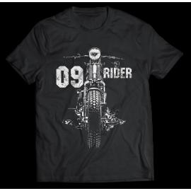 09 Rider - motoros póló