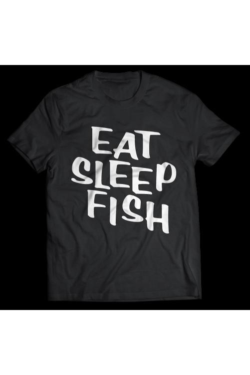 Egyél, aludj, horgássz! póló