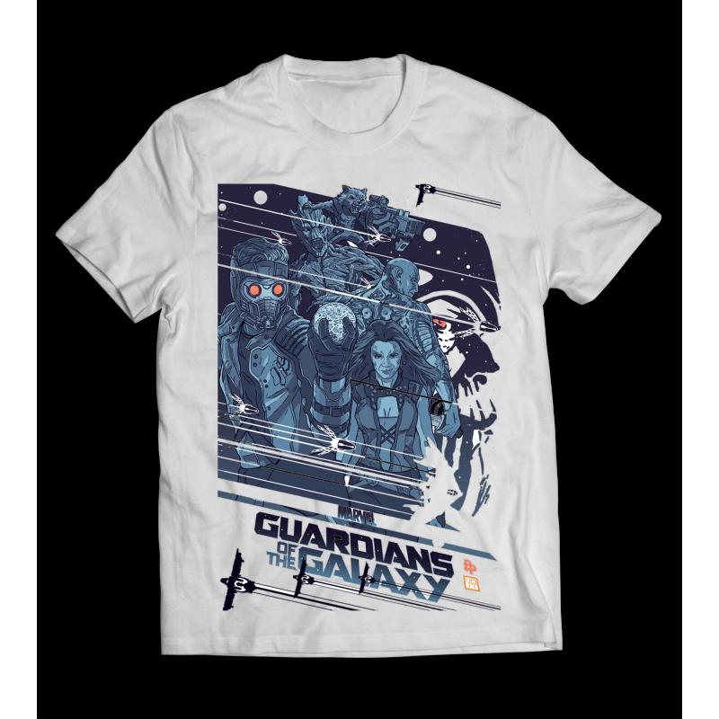 A Galaxis Őrzői póló - FULL méret - CSAK nálunk!