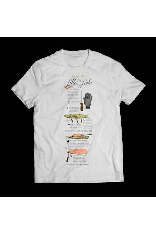 Hogyan filézzünk halat? :) Horgász póló