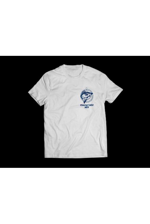 Horgászoknak CSAPAT póló SAJÁT névvel!